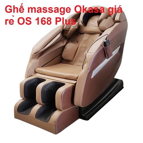 Ghế massage Okasa giá rẻ OS 168 Plus