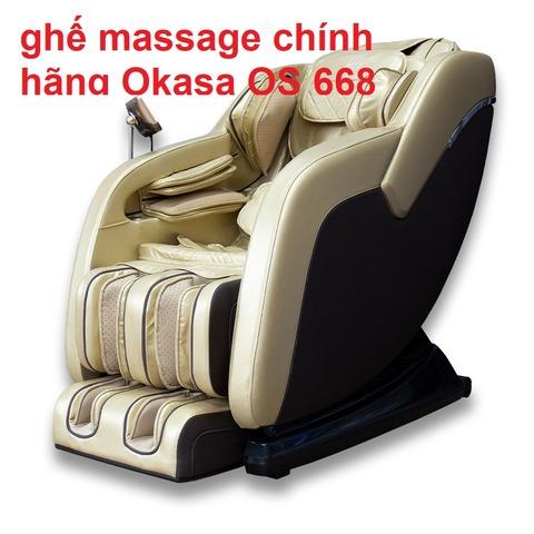 ghế massage chính hãng Okasa OS 668