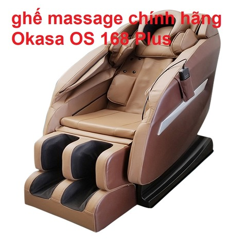 ghế massage chính hãng Okasa OS 168 Plus