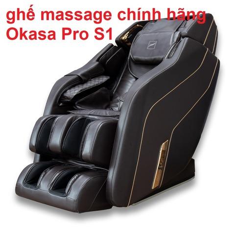 ghế massage chính hãng Okasa Pro S1
