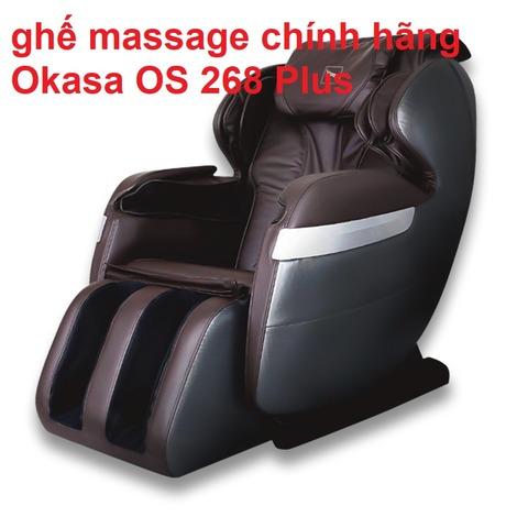 ghế massage chính hãng Okasa OS 268 Plus