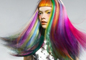 rainbow-hair-with-orange-bangs