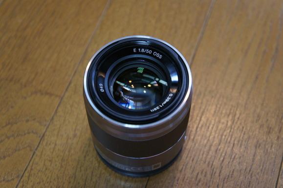 Eマウント 50mm F1.8