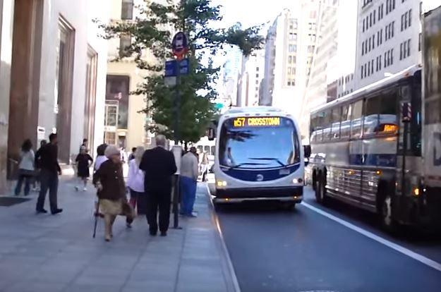 NYのバスについて