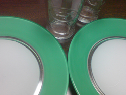 glasses and dishes