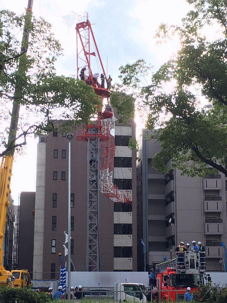 クレーン ゼネコン 名古屋 事故