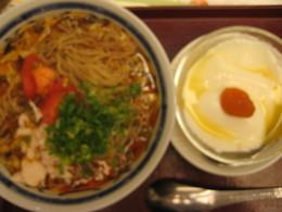 蒸し鶏と豆腐の酸辣(スーラー)麺L