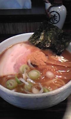 井の庄ラーメン1