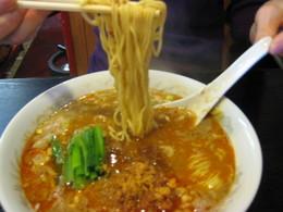 坦々麺 麺