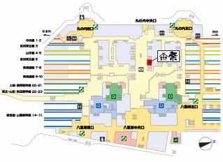駅弁屋祭り地図