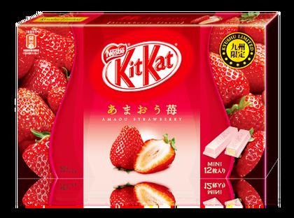 キットカットあまおう苺