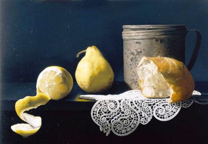 レモンのある風景