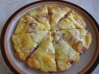 サラミピザ