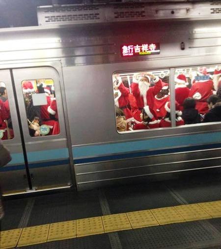 サンタだ!