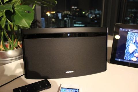 AirPlay対応Boseスピーカー