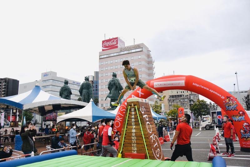 ジャンピング高知駅前
