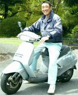 高木正義グリーンキーパーはバイクで移動