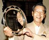 グランドシニア優勝の松岡さんおめでとうございます♪