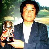 07年4月度月例杯A優勝の高砂吉孝さん