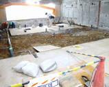 浴場の大工事中