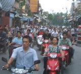 ベトナムの交通量はハンパじゃない!