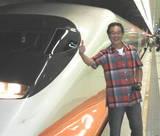 台湾新幹線にて