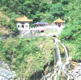 台湾崖っぷち寺院