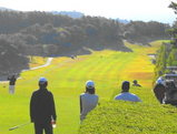 ゴルフ日和にスタート