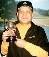 07・10 月例A優勝吉岡さんおめでとうございます