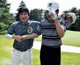 10・5 理事長杯 高砂さん(左)と2位の梶川さん(右)