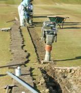 自動散水設備の設置工事(1番H)�