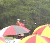 雨のドラコン大会