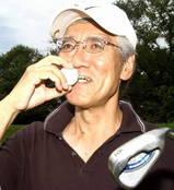 川瀬さんホールインワンおめでとうございます