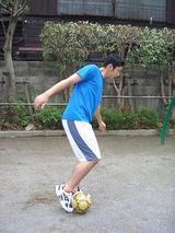 サッカーボールの蹴り方�