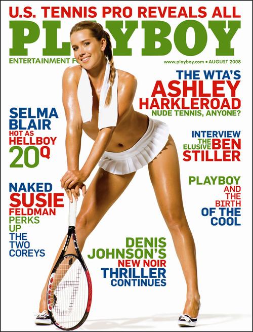 Ashley Harkleroad – Playboy Aug 08