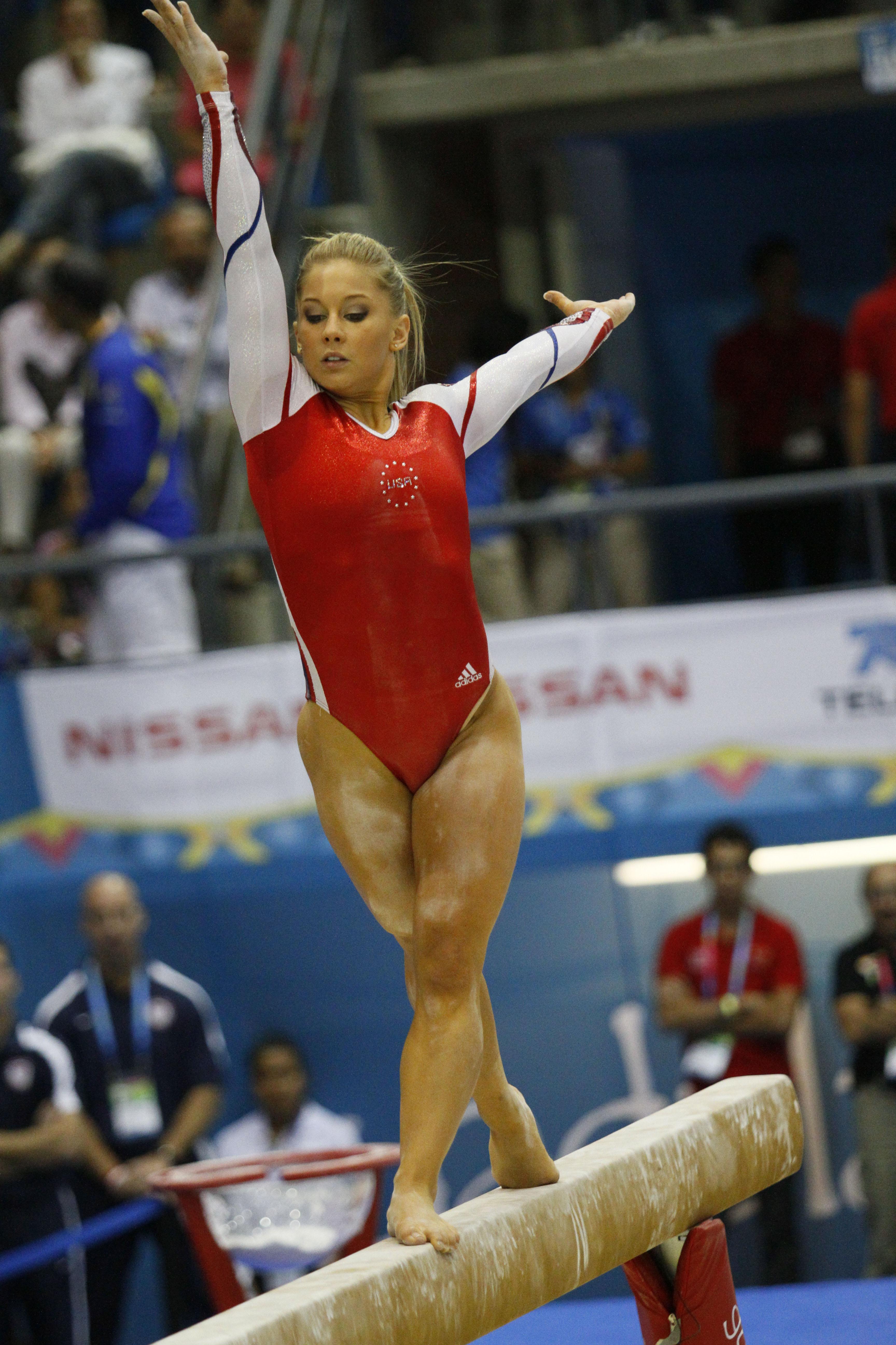 Gymnastics leotards malfunction
