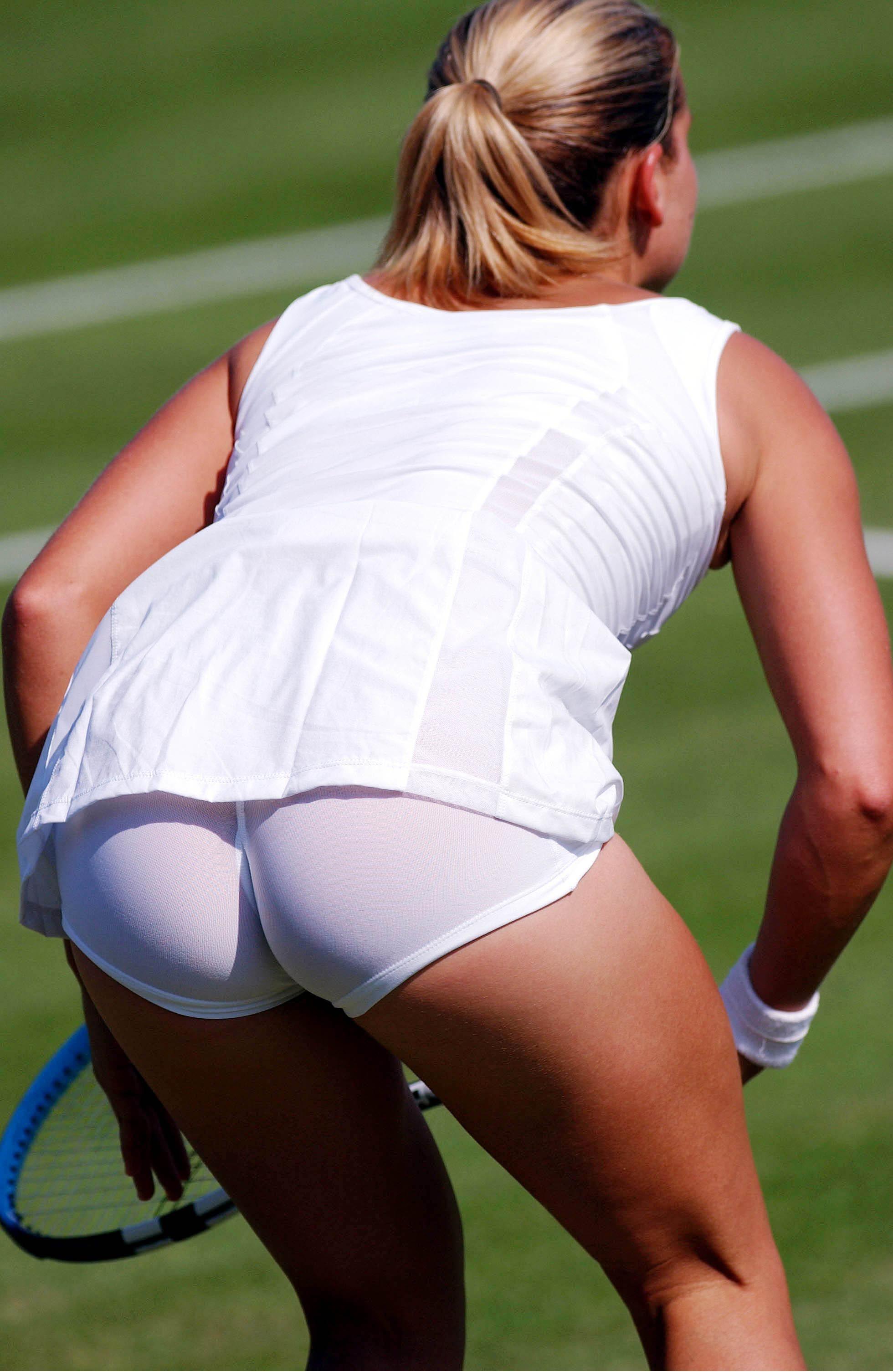 Фото под юбкой тенисисток 7 фотография