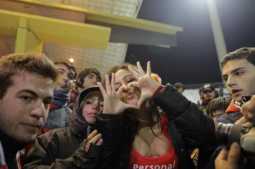 Paraguay Fans - Copa America 2011 (2)