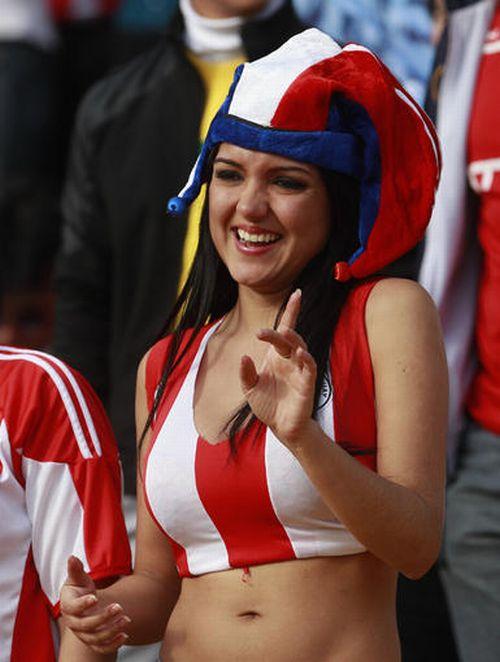 Paraguay Fans - Copa America 2011 (13)