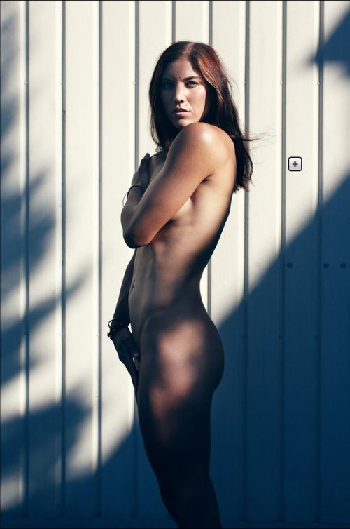 Hope Solo - artistic nudes for ESPN (1)