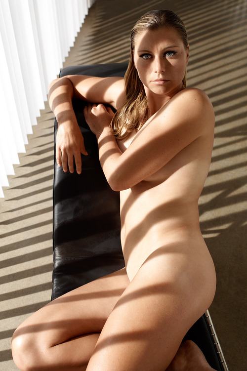 Vera Zvonareva - ESPN Body Issue 2011 - Nude