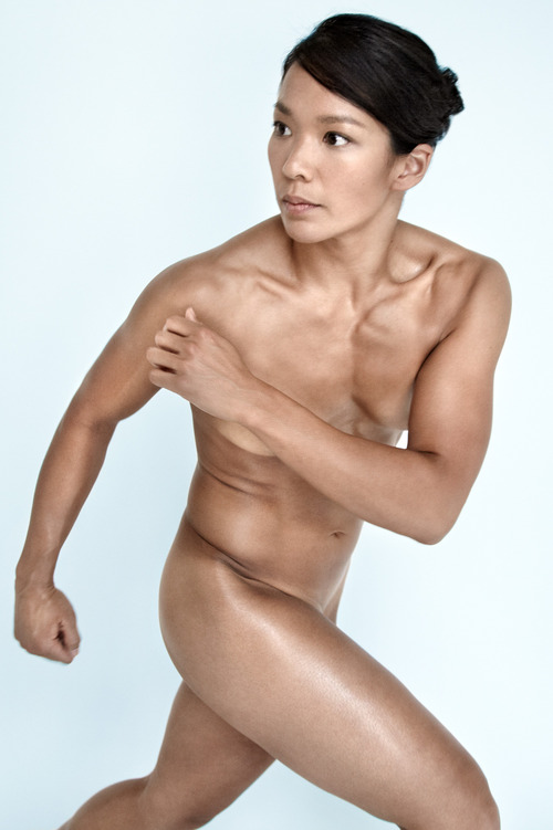 Julie Chu - ESPN Body Issue 2011 - Nude