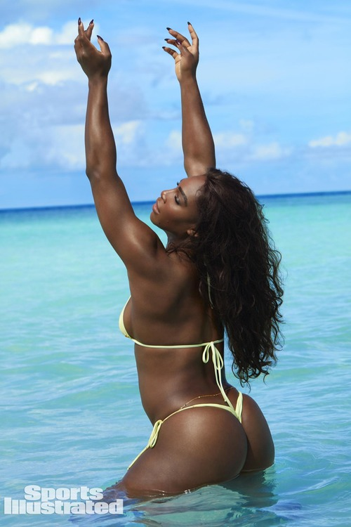 Serena Williams - Sports Illustrated Swimsuit Issue 2017