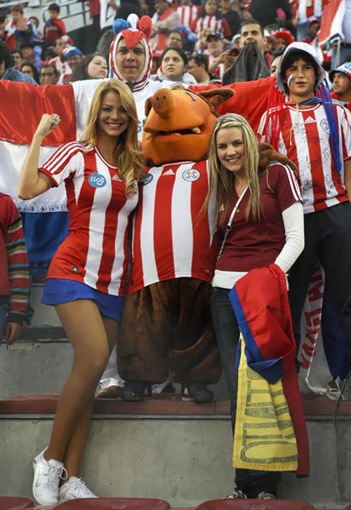 Paraguay Fans - Copa America 2011 (8)