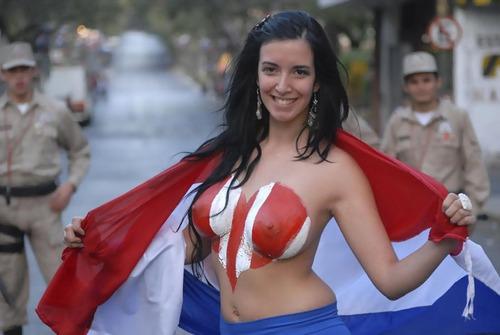 Paraguay Fans - Copa America 2011 (5)