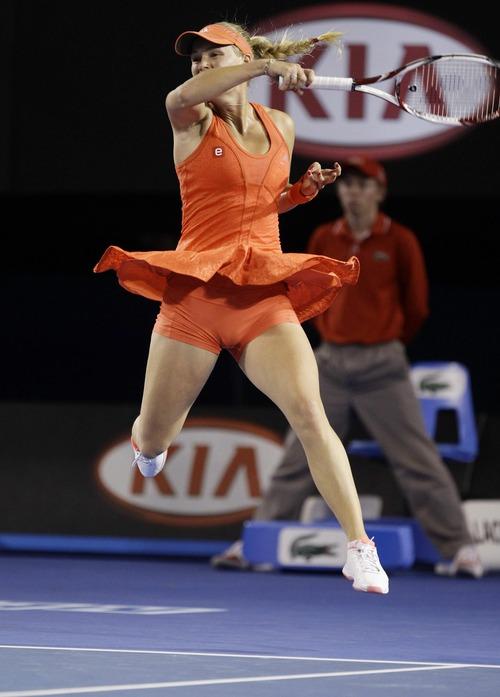 Caroline Wozniacki - 4th Round Australian Open (2)