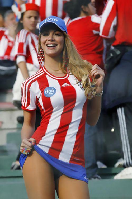 Paraguay Fans - Copa America 2011 (7)