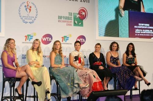 Caroline Wozniacki - upskirt wta championships
