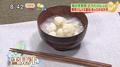 星野訓生さんの材料2つだけレシピ 【雪見汁】
