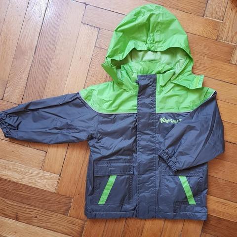 緑ジャケット